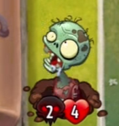 Smelly Zombie Appearing
