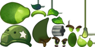 Gatling Pea PvZH Textures