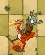 Bird Raider Zombie