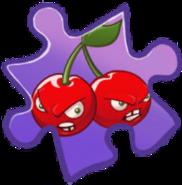 Cherry Bomb Puzzle Piece