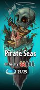 Pirate Seas with Difficulty