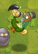 Gliding Green Dodo