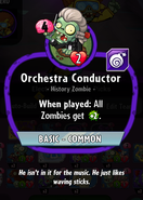 Orchestra Conductor Old stats