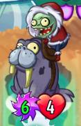 Walrus Zombie Heroes