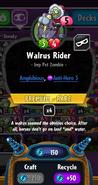 Walrus Rider statistics