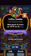 Coffee Zombie statistics