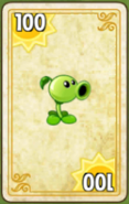 Peashooter Card