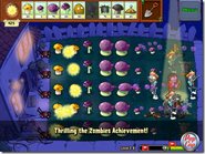 Official PopCap Screen Thrilling the Zombies