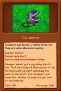 New chomper almanac