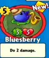 Receiving Bluesberry