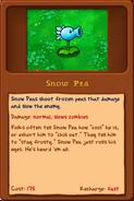 Snow pea's almanac