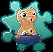 Pea-nut Costume Puzzle Piece