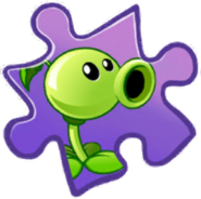 Peashooter Puzzle Piece