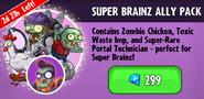 Super Brainz Ally Pack Promotion