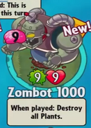 Zombot 1000 Bought Old
