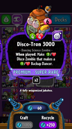 Disco-Tron 3000 stats