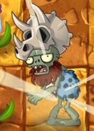 Fossilhead Affected by Sun Bean's Plant Food