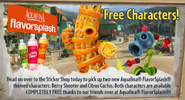 Citrus Cactus Ads in game