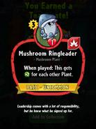 Mushroom Ringleader Description