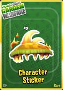 Sticker Fire Chomper