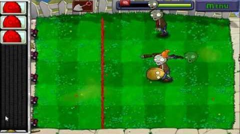 Plants vs. Zombies Мини-игра Стенореховый Боулинг