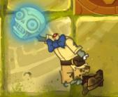Dead skull zombie