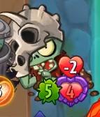Zombie Fossilhead Damage