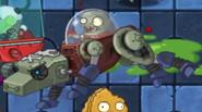 Mechanical Wolf Zombie Jump