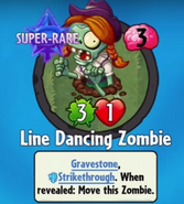 Line Dancing Zombie Bought