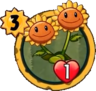 Twin SunflowerH