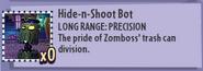 Hide-n-Shoot Bot Stats