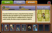Excavator Zombie Almanac part 2