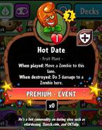 Hot Date Statistics