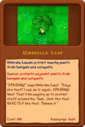 Umbrellaleaf almanac pc
