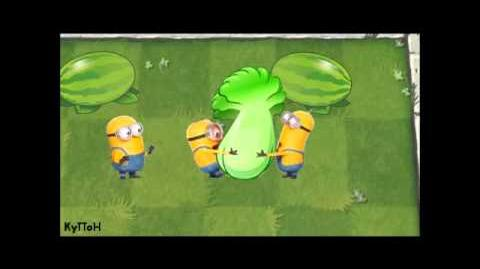 Plants vs Zombies & MINIONS short cartoon Растения против Зомби и МИНЬОНОВ короткий мультфильм