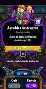 Aerobics Instructor stats