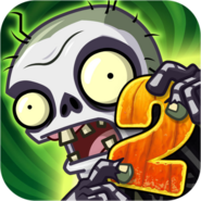 Plants Vs. Zombies 2 It's About Time Icon (Versions 4.1.1)