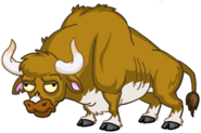 HD Zombie Bull Impless