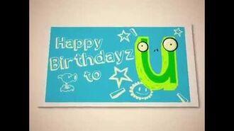 Happy Birthdayz from PvZ