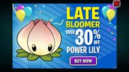 Power Lily Birthdayz Ad
