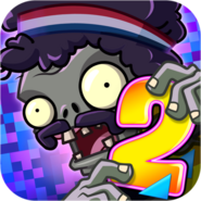 Plants Vs. Zombies 2 It's About Time Icon (Versions 4.0.1)