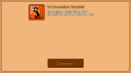 Pyromaniac Achievement in the iOS Version
