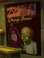Zomboss Energy Ads Poster