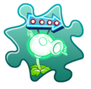 Electric Peashooter Costume Puzzle Piece