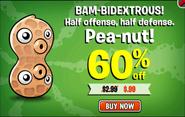 Pea-nut Off Ad