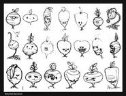 Beet original drawings