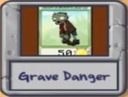 Iocn Danger Grave