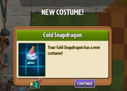 Got Costume Cold Snapdragon's
