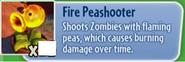 Fire Peashooter gw
