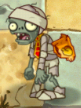 Conehead Mummy losing its cone (PvZ2IAT)